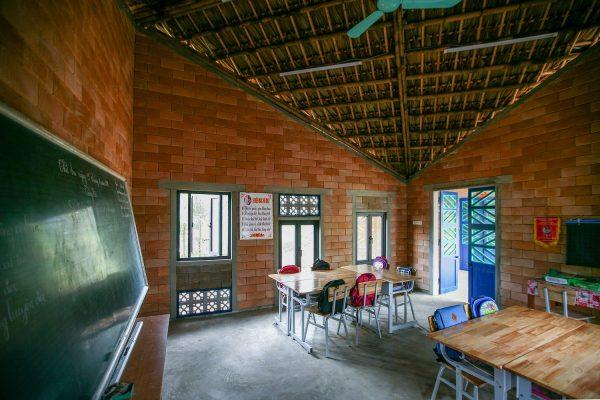 Bên trong trường tiểu học thân thiện với môi trường ở Lào Cai