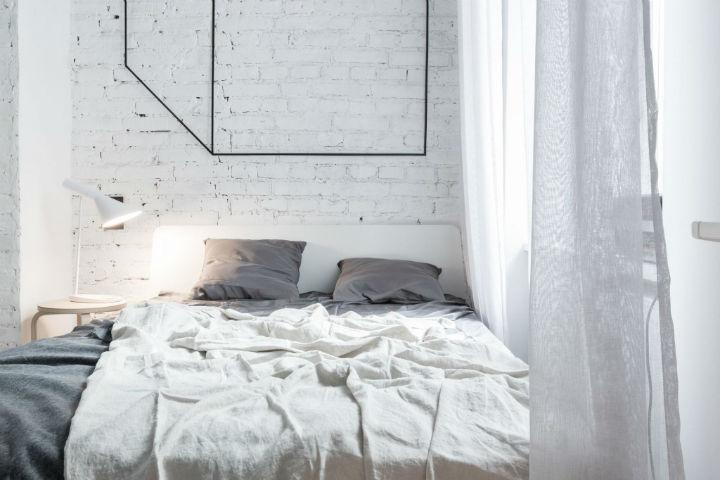 Phòng ngủ cũng nhỏ gọn