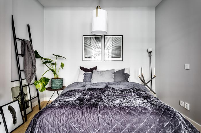 phòng ngủ của căn hộ nhỏ