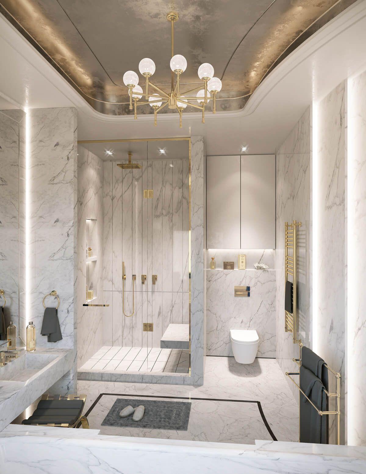 Thiết Kế Kính Phòng Tắm Đẹp