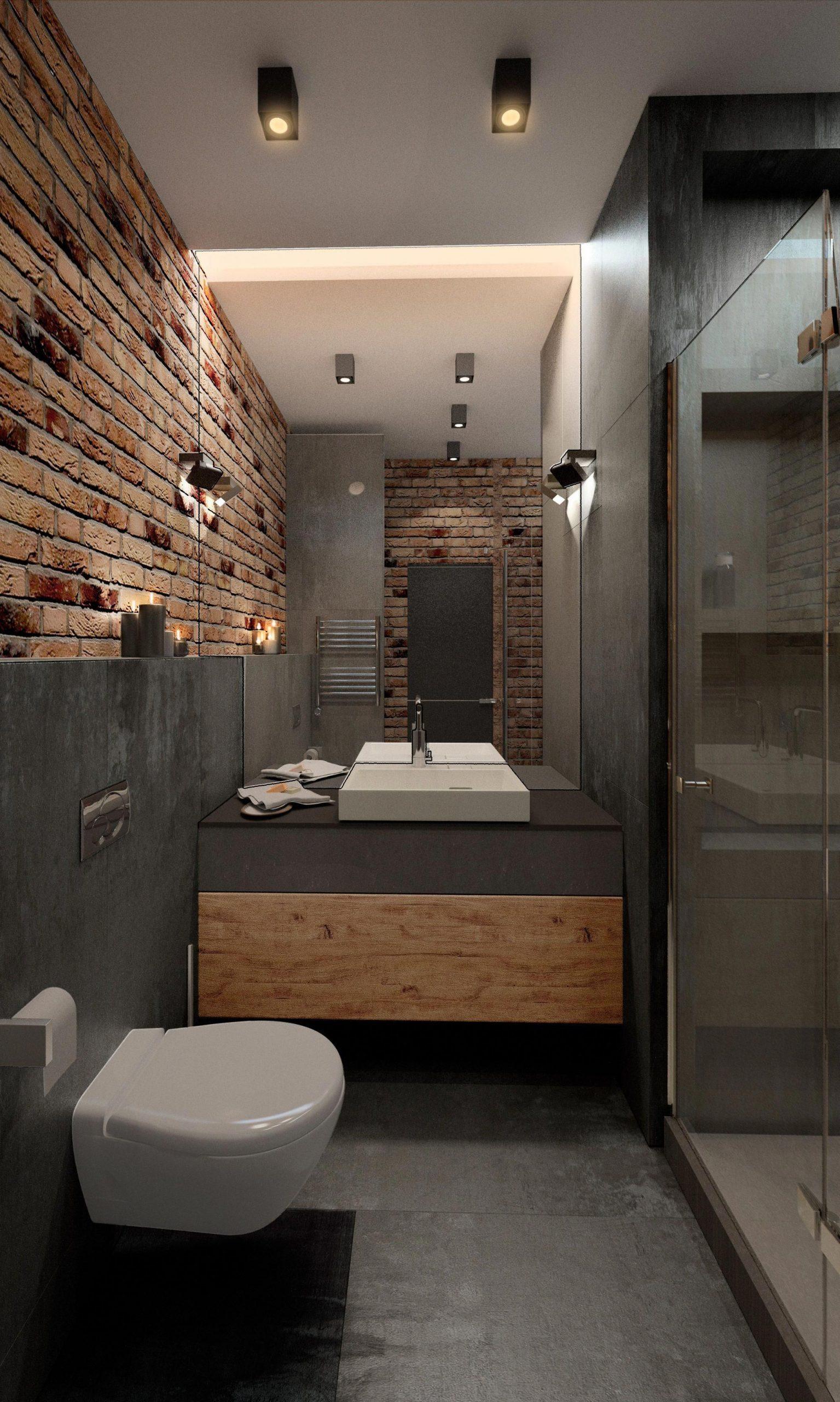 Trang Trí Phòng Tắm Công Nghiệp