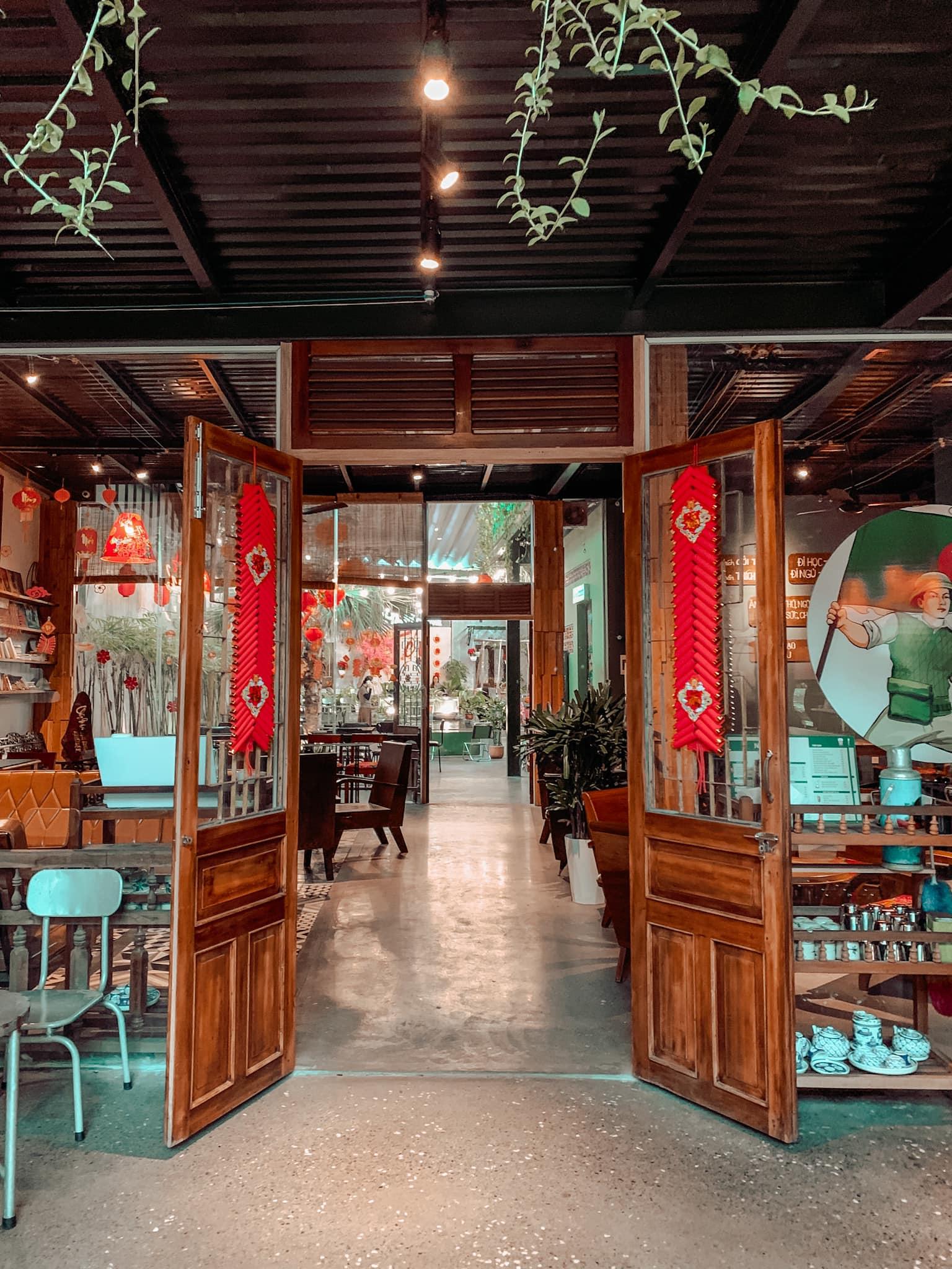 Trang Trí Quán Cafe Tết