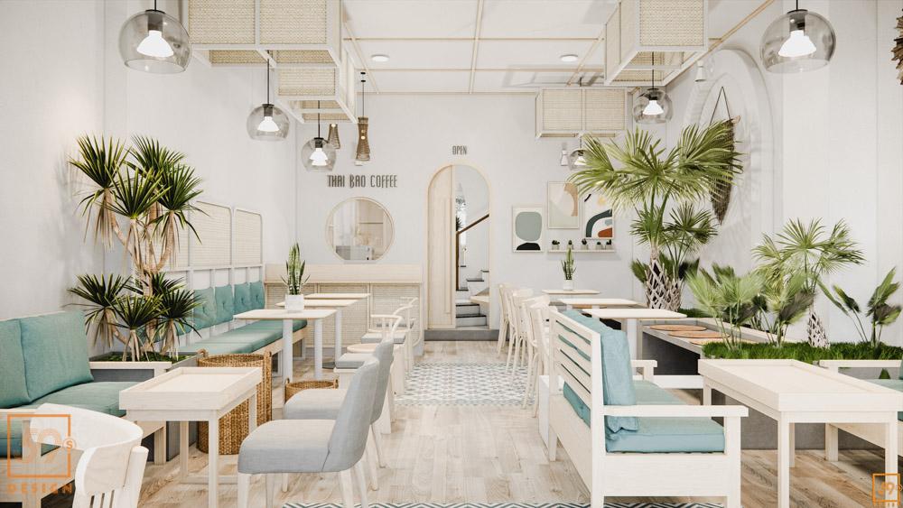 Cải Tạo Nhà Ống 2 Tầng Thành Quán Cafe