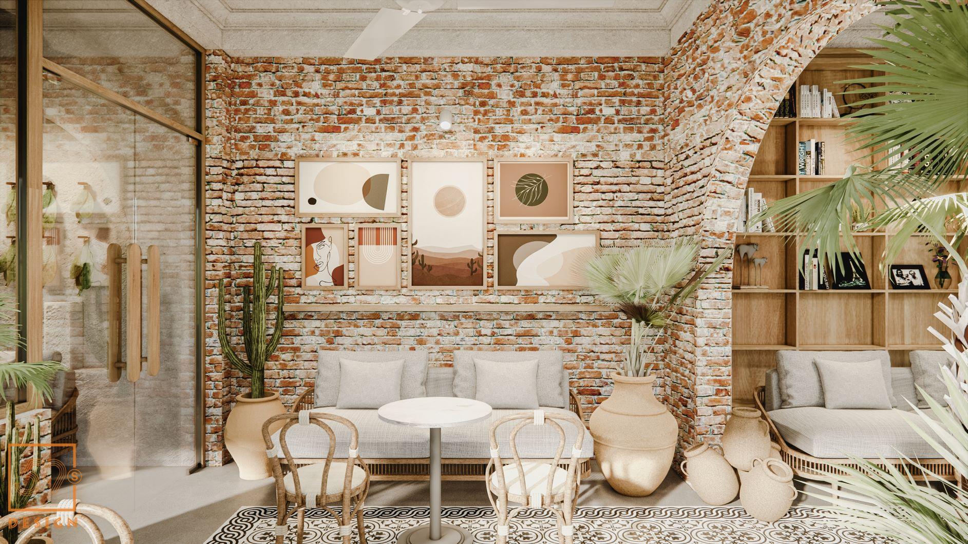 Quán Cafe Phong Cách Địa Trung Hải