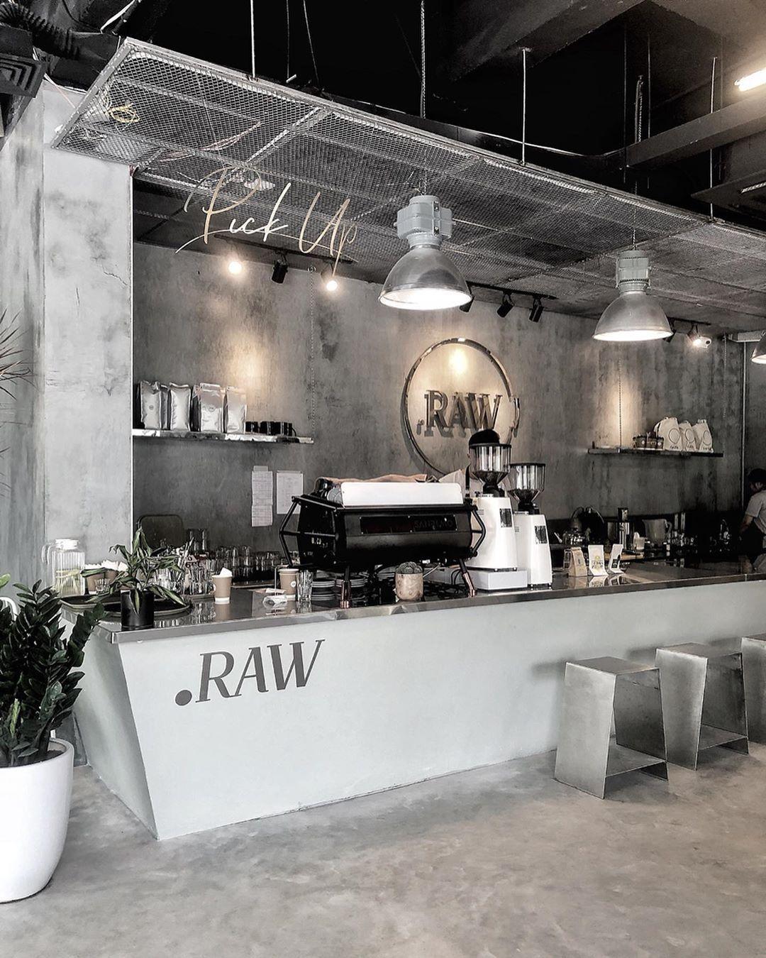 Quầy Bar Quán Cafe Chữ I