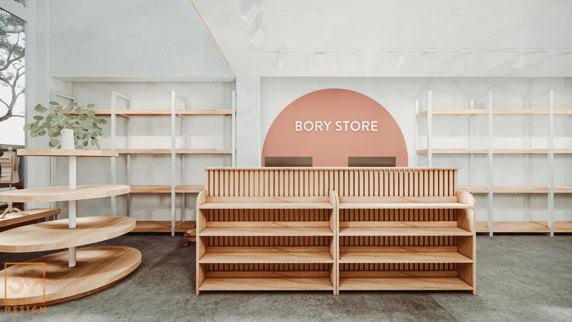Nội Thất Shop Thời Trang Trẻ Em